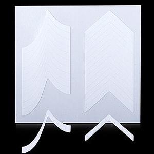 Трафарет для дизайна ногтей №12