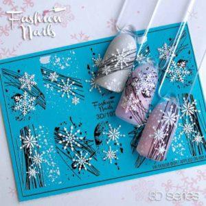 Fashion Nails, Слайдер дизайн 3D-107