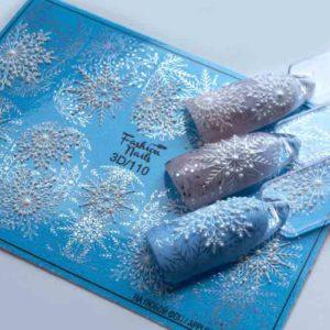 Fashion Nails, Слайдер дизайн 3D-110