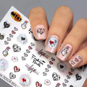 Fashion Nails, Слайдер дизайн Metallic-243