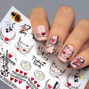 Fashion Nails, Слайдер дизайн Metallic-269