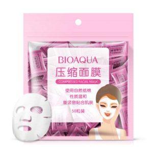 Bioaqua, Пресованные маски (таблетки), 50 шт/уп
