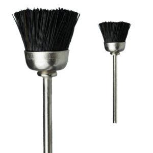 Насадка-щетка для чистки фрез (жесткая), черная