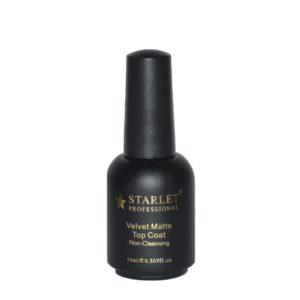 Starlet, Матовый топ без липкого слоя Velvet Matte Top, 15мл