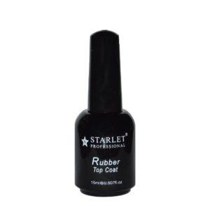 Starlet, Топ с липким слоем Rubber Top, 15мл