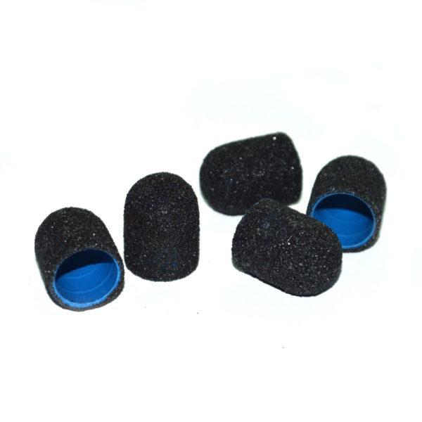 Колпачок абразивный, Черный 13х19мм, 80грит