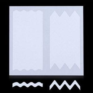 Трафарет для дизайна ногтей №24