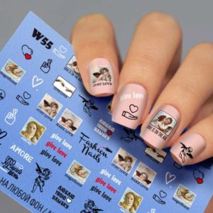 Fashion Nails, Слайдер дизайн White-55