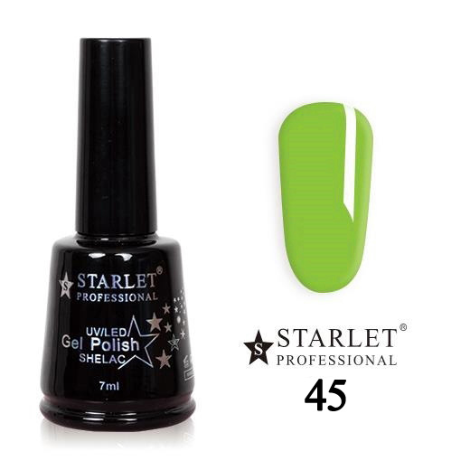 Starlet, Гель-лак №045 «Поцелуй лягушки», 7мл