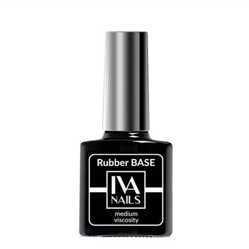 IVA Nails, Base Rubber Medium Viscosity Каучуковая база, 15мл