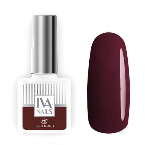 IVA Nails, Гель-лак Black Beauty №06, 8мл