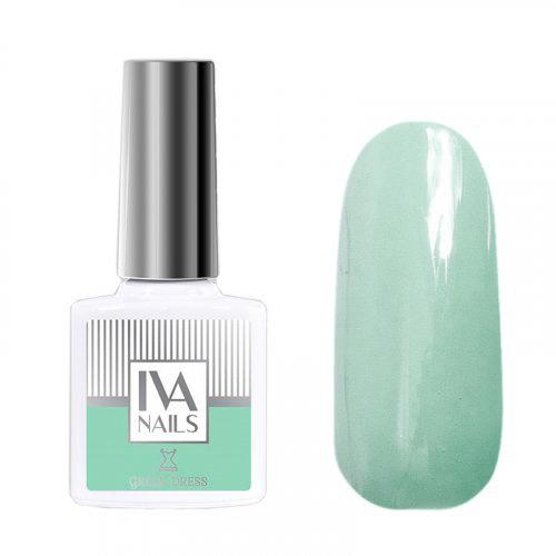 IVA Nails, Гель-лак Green Dress №01, 8мл