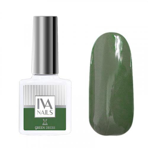 IVA Nails, Гель-лак Green Dress №02, 8мл