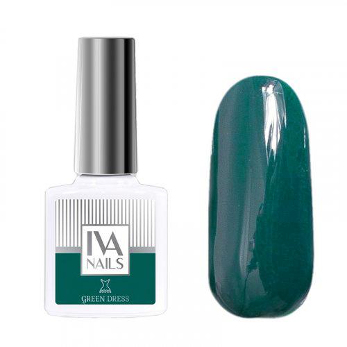 IVA Nails, Гель-лак Green Dress №03, 8мл