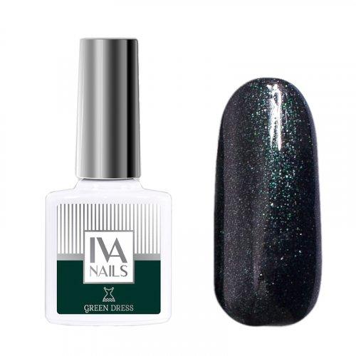 IVA Nails, Гель-лак Green Dress №06, 8мл