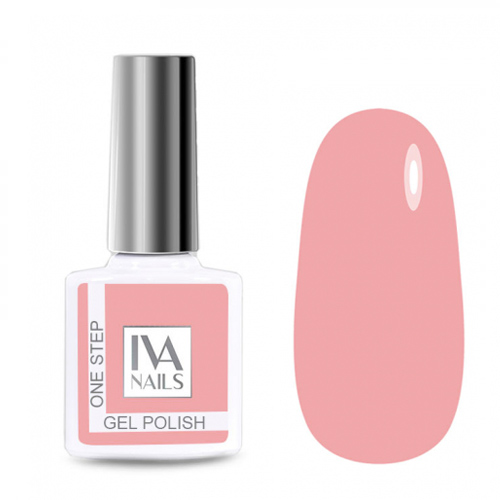IVA Nails, Гель-лак One Step №03, 8мл