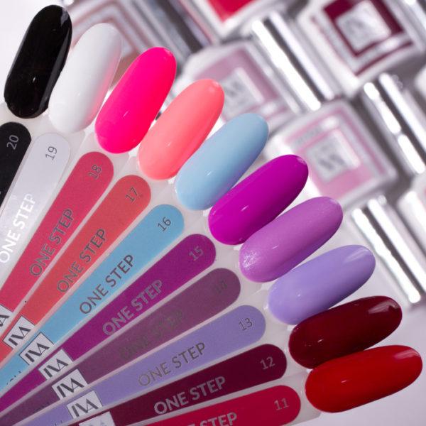 IVA Nails, Гель-лак One Step 11-20