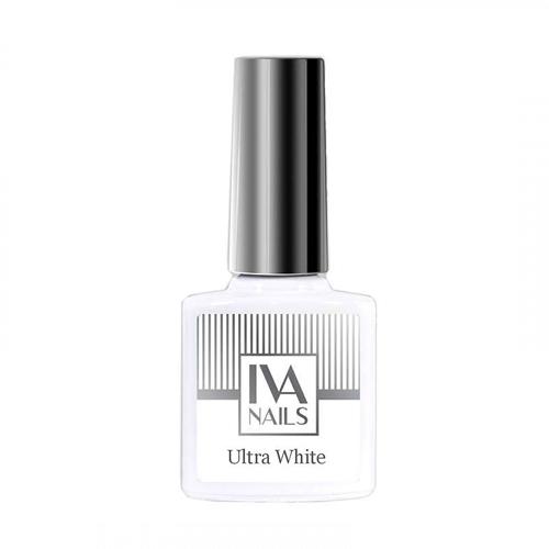 IVA Nails, Гель-лак Ultra White, 8мл
