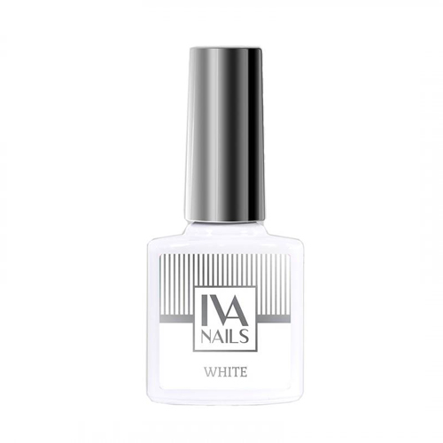 IVA Nails, Гель-лак White, 8мл