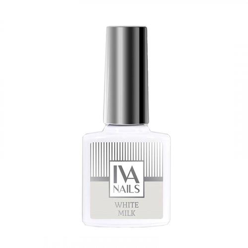 IVA Nails, Гель-лак White Milk, 8мл