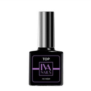 IVA Nails, Top No Wipe Топ без липкого слоя, 15мл