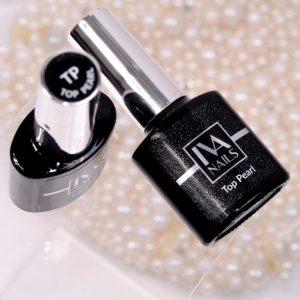 IVA Nails, Top Pearl Топ с жемчужным эффектом, 8мл