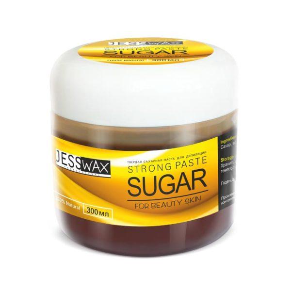 JessNail, Сахарная паста для депиляции 300г, твердая