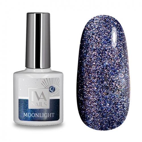 IVA Nails, Гель-лак светоотражающий «Кошачий глаз» Moonlight №05, 8мл