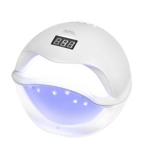 SUN5, UV/LED Лампа с дисплеем 48W, белая
