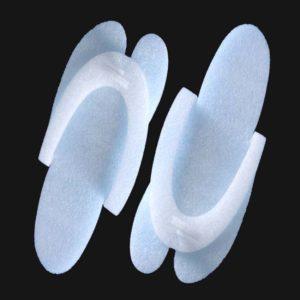 Тапочки одноразовые «Вьетнамки» 25пар/упак, изолон