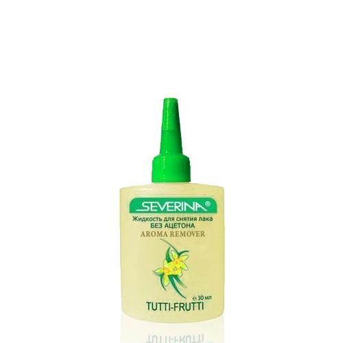 Severina, Жидкость для снятия лака без ацетона Tutti-Frutti с кокосовым маслом, 30мл