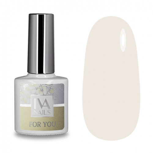 IVA Nails, Гель-лак For You №01, 8мл