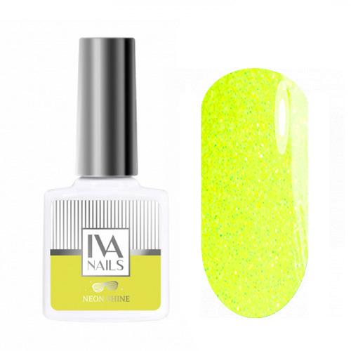 IVA Nails, Гель-лак Neon Shine №01, 8мл