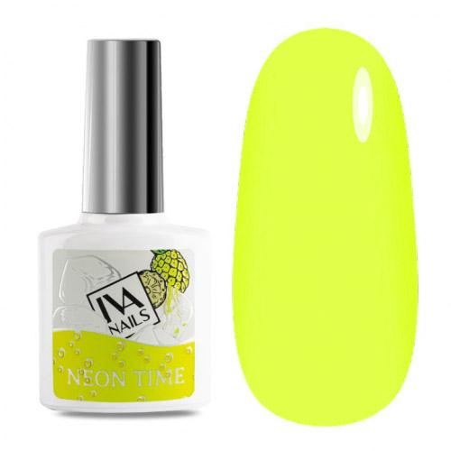 IVA Nails, Гель-лак неоновый Neon Time №01, 8мл