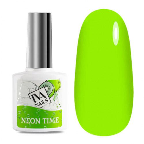 IVA Nails, Гель-лак неоновый Neon Time №02, 8мл