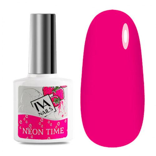 IVA Nails, Гель-лак неоновый Neon Time №04, 8мл