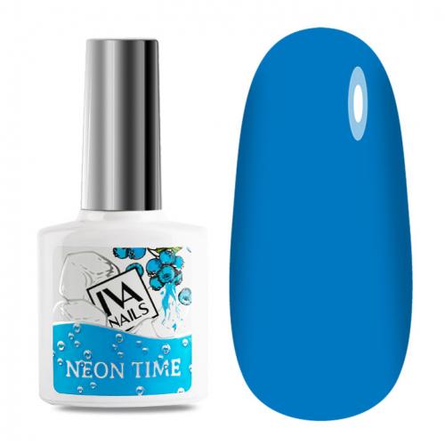 IVA Nails, Гель-лак неоновый Neon Time №06, 8мл