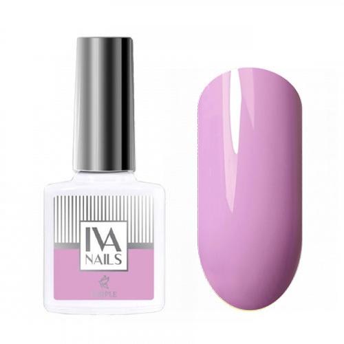 IVA Nails, Гель-лак Purple №01, 8мл