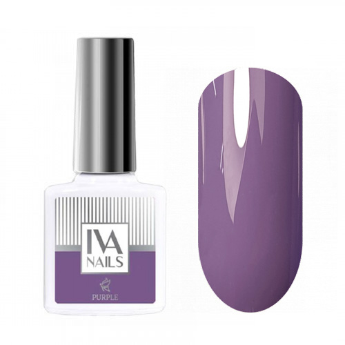 IVA Nails, Гель-лак Purple №03, 8мл