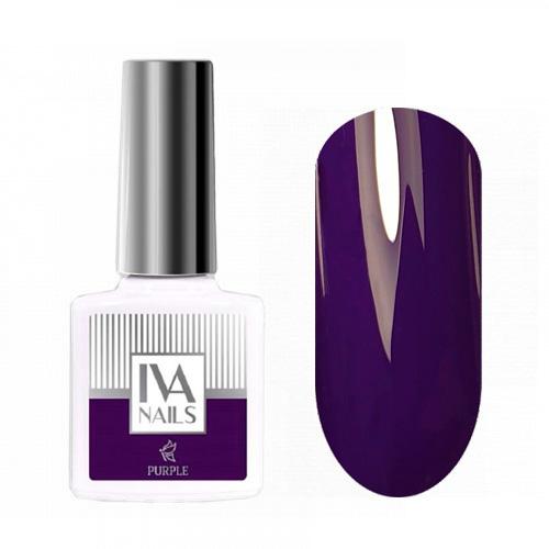 IVA Nails, Гель-лак Purple №04, 8мл