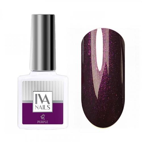IVA Nails, Гель-лак Purple №05, 8мл
