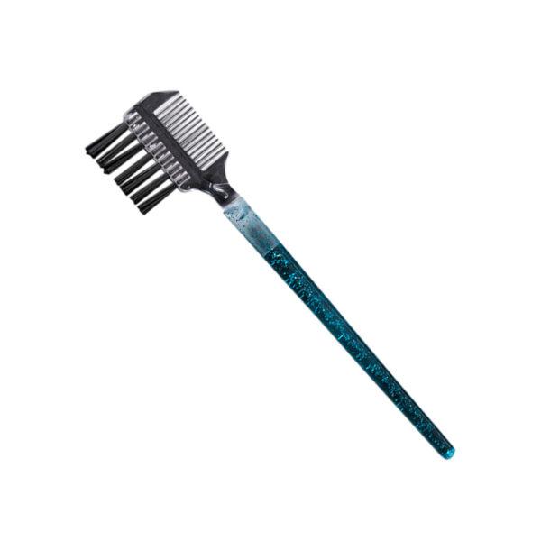 Щеточка-расческа для бровей и ресниц, в ассорт