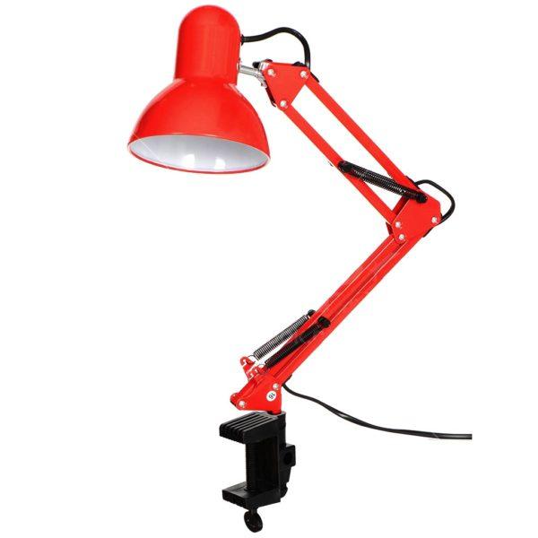 Светильник настольный, красный